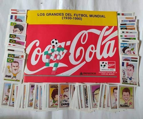 Album Italia 1990 Los Grandes Del Fútbol Mundial