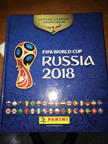 Album Lleno Mundial Rusia 2018 Panini Con Todas Las Estampas