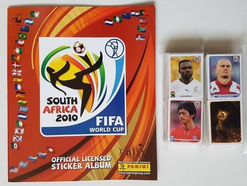 Album Mas 604 Estampas A Pegar Mundial Sudafrica 2010