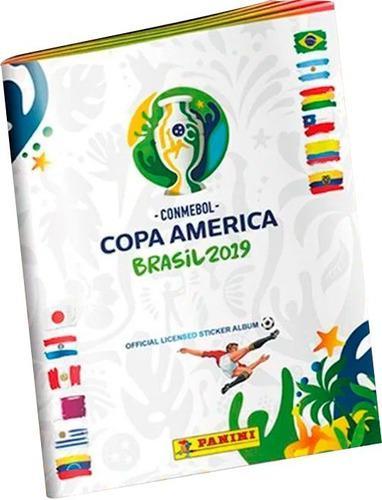 Album Mas Caja Con 50 Sobres De Copa America Brasil 2019
