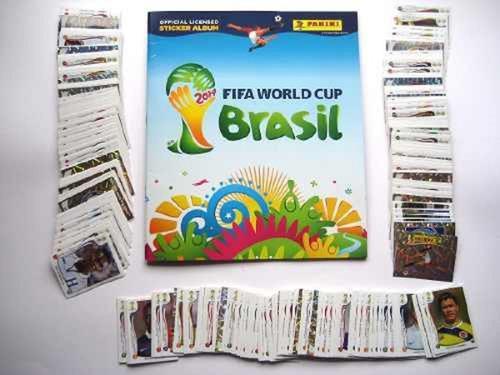 Album Mundial Brasil 2014 Mas 100 Estampas Sin Repetir