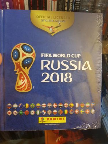 Album Mundial Rusia 2018 Panini Nuevo
