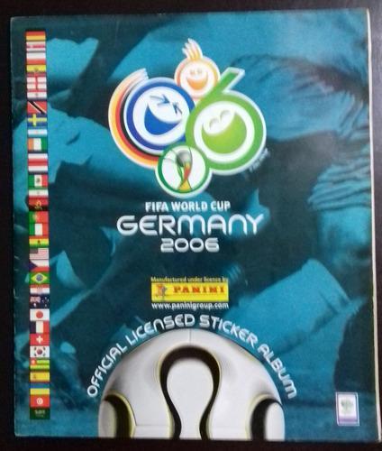 Album Panini Mundial De Futbol Alemania 2006 Lleno