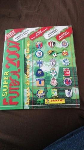 Album Super Fútbol 2007 Panini