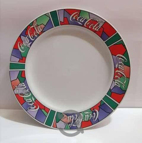 Antiguedades plato de coca cola vintage