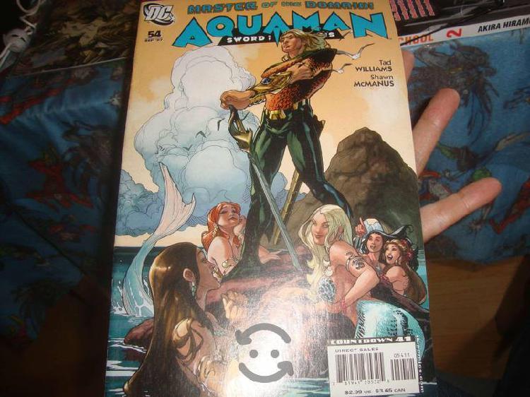 Aquaman Portada Sirenas