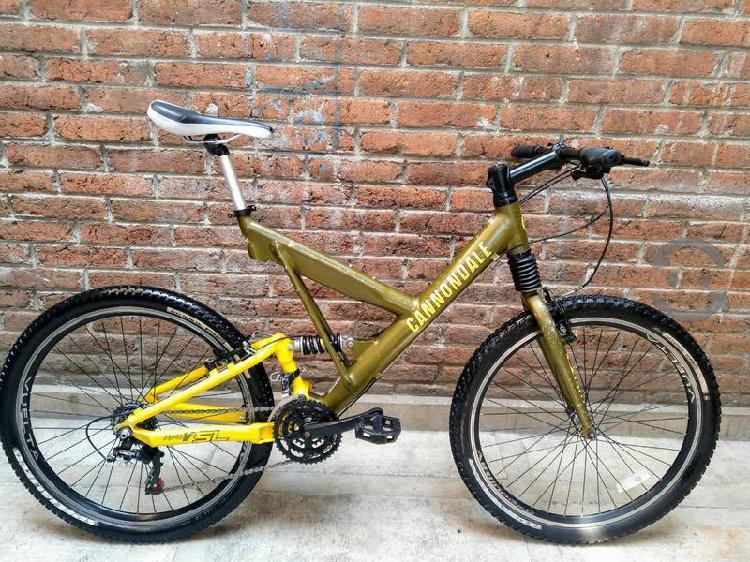 Bicicleta Cannondale Aluminio $$ A TRATAR $$