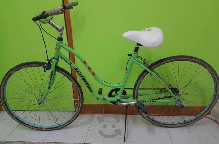 Bicicleta Schwinn Verde Vintage