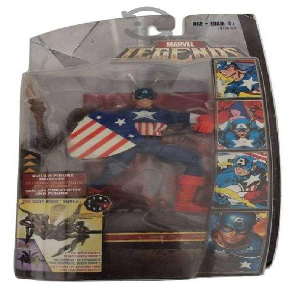 Capitan America, Marvel Legends, Serie Queen Brood
