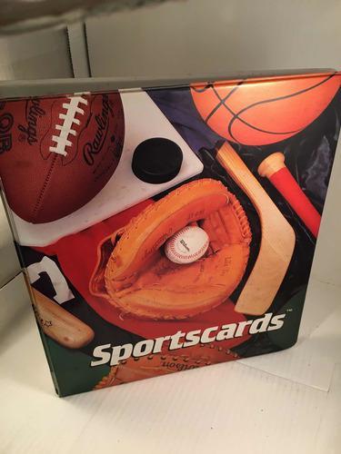 Carpeta Importada Para Tarjetas Coleccionables Sportscards