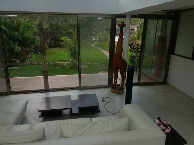 Casa en renta en Residencial Selvamar Playa del Carmen cerca