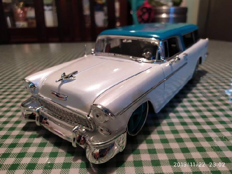 Chevy Bel Air Nomada a escala 1/18