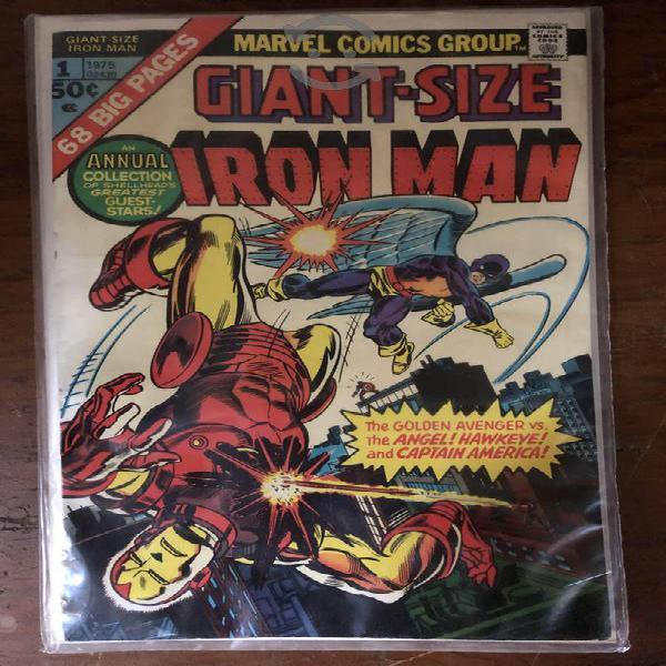 Cómic giant size iron man #1 1975 como nuevo