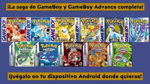 Colección De Juegos Pokemon De Gameboy + Regalos (android)