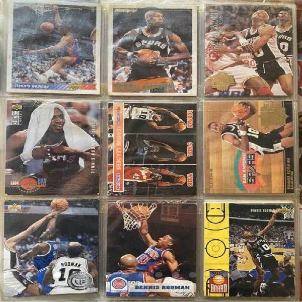 Colección de tarjetas de Basketball