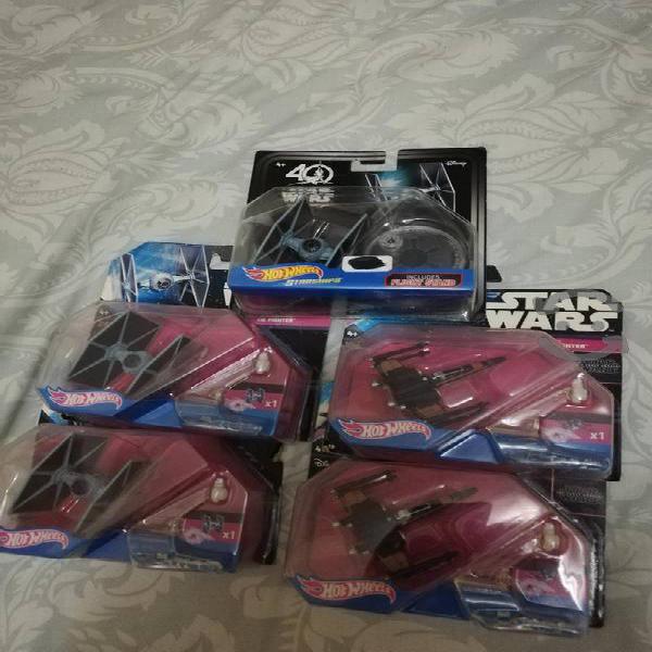 Colección naves Star Wars.
