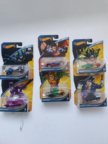 Coleccion Dc De Hot Wheels 6 Piezas 100% Original