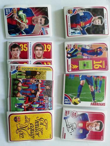 Coleccion Lote Barcelona 2012-13, 183 Estampas Album Panini