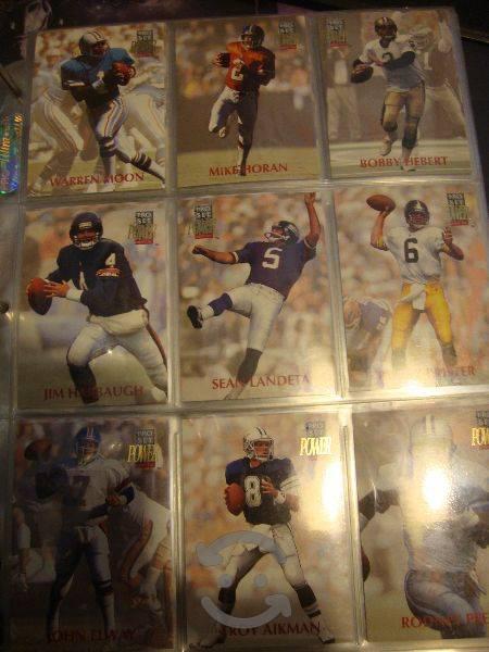 Coleccion de Tarjetas NFL Pro Set 1992