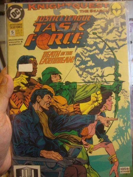 Comics sueltos Justice League Task Force Dc Comics