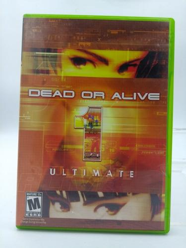 Dead Or Alive 1 Ultimate Xbox En Gordito Coleccionables
