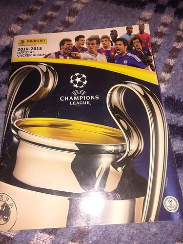 Estampas De La Champions League 2014-2015 Panini