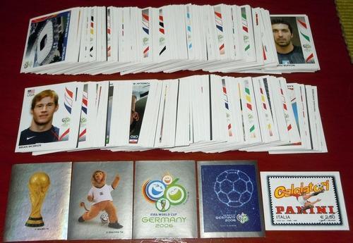 Estampas Del Mundial Alemania 2006 Oficial De Panini