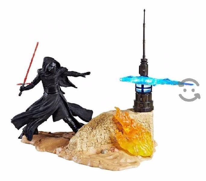 Figura Star Wars Kylo Ren Base Con Luz The Black S