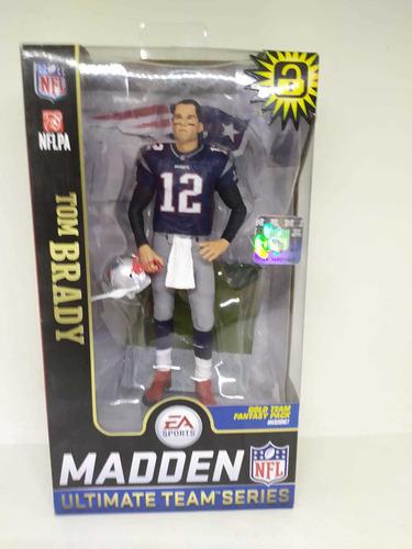 Figura Tom Brady New England Patriots Madden Nfl Nueva
