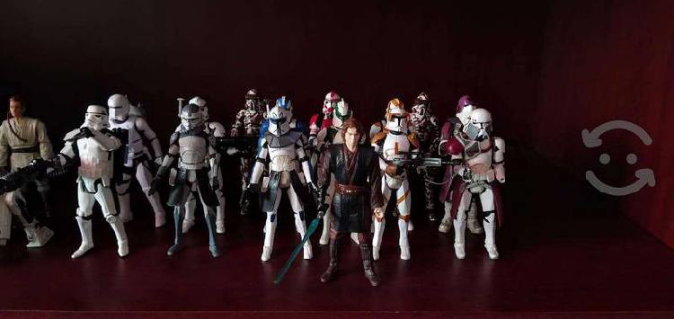 Figuras Star Wars seminuevas