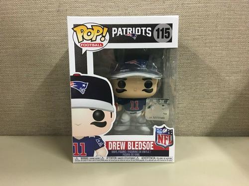 Funko Pop Nfl Drew Bledsoe New England Patriots Patriotas 11