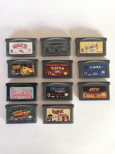 Game Boy Advance Lote De Juegos
