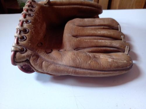Guante Antiguo De Baseball