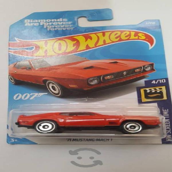 Hot Wheels 71 Mustang Mach 1 del 007
