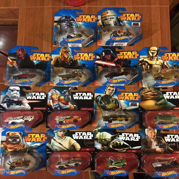 Hot Wheels Carros Star Wars Personalizados