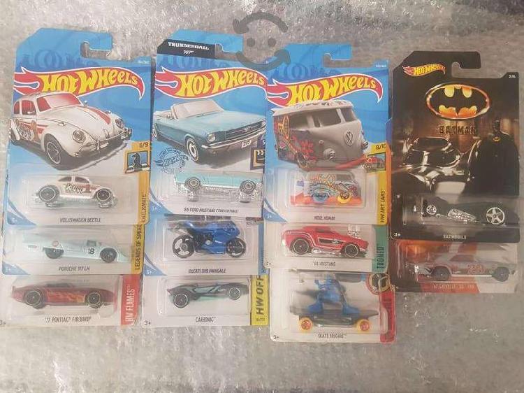 Hot Wheels Mustang Volkswagen batimobil lote