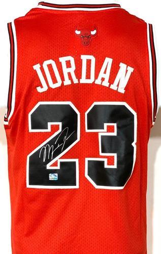 Jersey Bulls Autografiado Firmado Michael Jordan Cert Coa