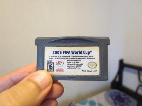 Juego 2006 Fifa World Cup Nintendo Game Boy Advance Funciona