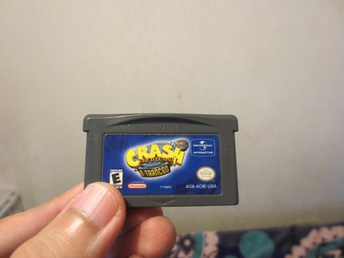 Juego Crash N-tranced Game Boy Advance Solo Cartucho
