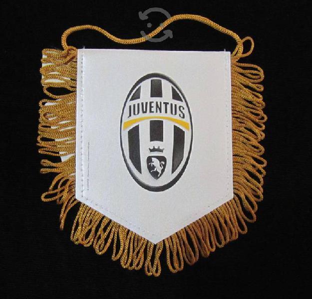 Juventus banderita serie a italia futbol uefa