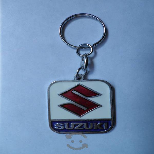 Llavero Metalico con el Logo de SUZUKI