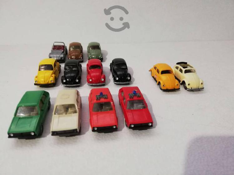 Lote D 13 Piezas Volkswagen Vocho Y Caribes Wiking
