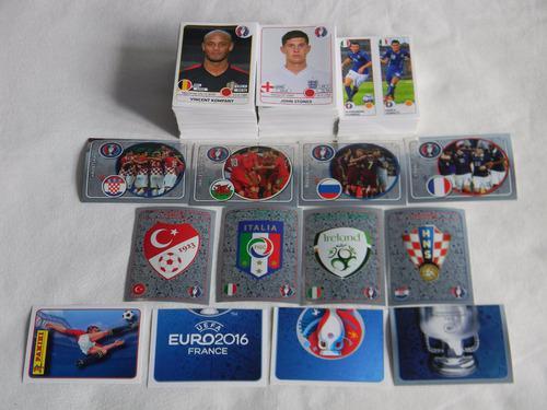 Lote De Estampas Álbum Panini Eurocopa Francia 2016