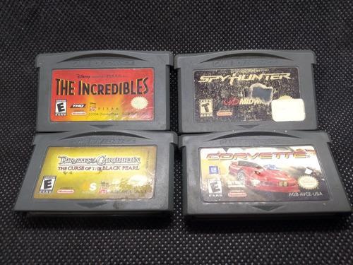 Lote Juegos Nintendo Gameboy Advance