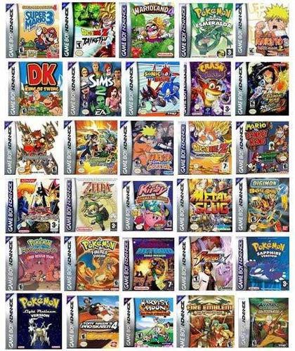Megapack! 78 Juegos De Game Boy Advance Para Celular Y Compu