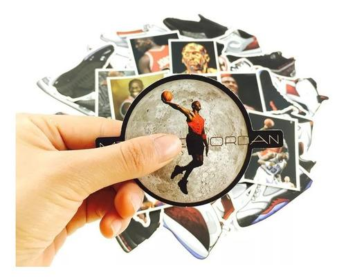 Michael Jordan Basquetbol 50 Estampas Calcomanias Stickers