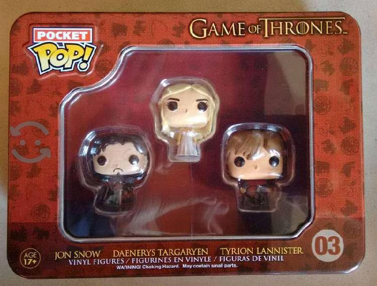 Minis funkos pop game of thrones