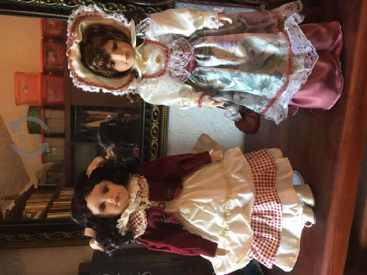 Muñecas de porcelana EMERALD Collection