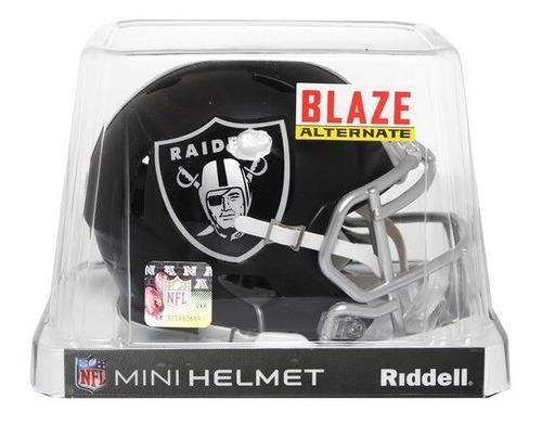 Oferta! Nfl Mini Casco Blaze Oakland Raiders