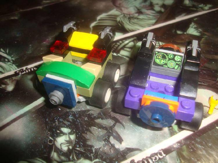 Pack dos carritos de Lego